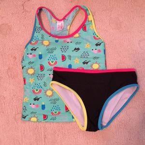 Cat & Jack girl's tankini